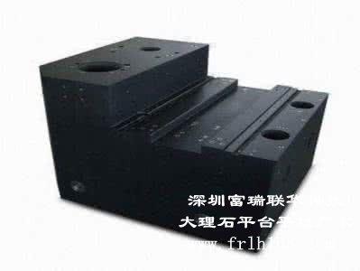 大理石平台机械构件的机械装配